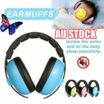 Adjustable Baby Ear Muffs Noise Cancelling Reducing Earmuffs Hearing Protect NW