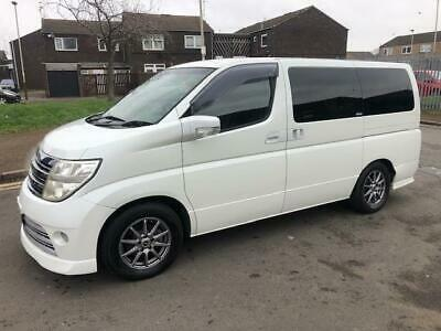 2005 Fresh Import Nissan Elgrand Rider 2.5 V6 8 Seater Luxury MPV Leather Seats