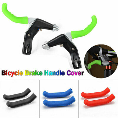 1Pair Mountain Bike Road Bicycle Brake Lever Grips Silicone Protector Cover Boot
