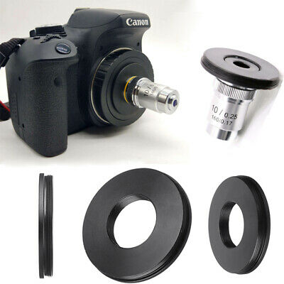RMS Adapter Microscope Objective To Canon EF EOS DSLR/SLR  Lab Equipment