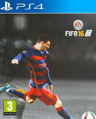 FIFA 16 Special Steelbook Edition [PS4] Game PlayStation 4, UK PAL