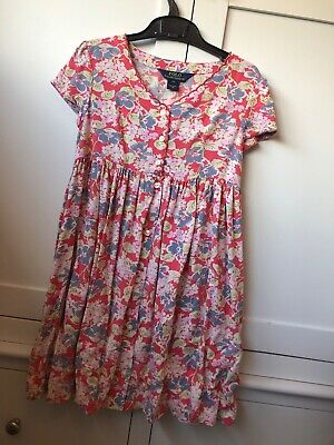 Girls floral Ralph Lauren dress - age 6. Immaculate condition - worn twice