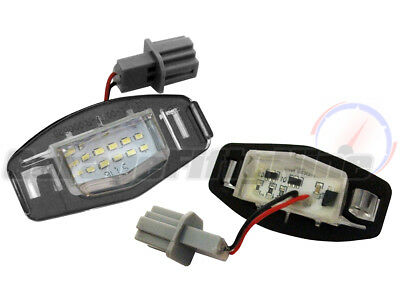 Honda 18 LED CANBUS Number Plate Light Licence Lamp Civic Accord Type R EP3