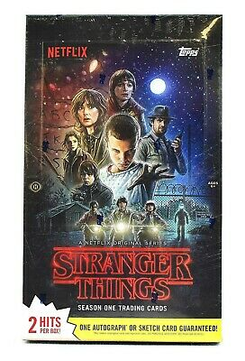 Topps Stranger Things Season 1 Trading Cards Hobby Box OVP