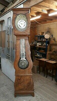 French Comtoise Grandfather Clock