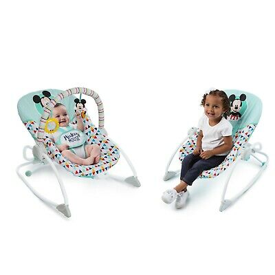 Bright Starts Disney Baby Mickey Mouse Infant to Toddler Rocker Seat - Happy Tri
