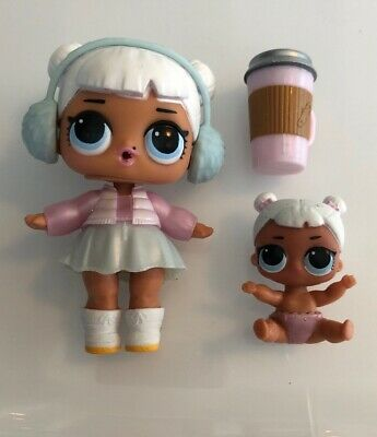 Bag /& LOL Surprise LiL Sisters L.O.L SNOW ANGEL doll toy SERIES 2 MBJD