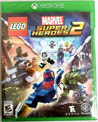 LEGO Marvel Superheroes 2 XB1 (Microsoft Xbox One, 2017) Brand New - Region Free