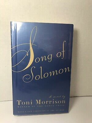 Song of Solomon by Toni Morrison Hardcover
