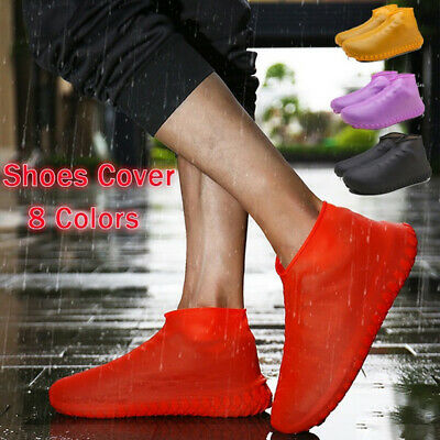 Latex Wear Resistant Slip-resistant Shoe Covers Rain Boots Footwear cover
