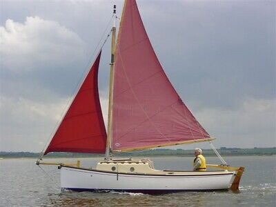 EZ Build SAILBOAT SAIL BOAT CATBOAT CATAMARAN PLANS 6