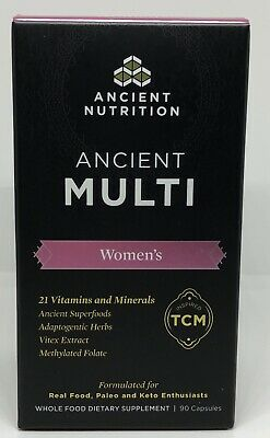 Dr. Axe - Ancient Nutrition - ANCIENT MULTI - Women's - 90 Capsules
