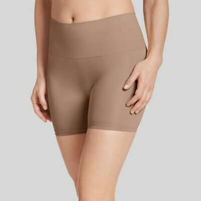 Jky by Jockey Women's Slimming Shorts - Almond S, Carmel