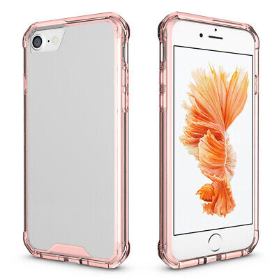 Phone Case Protect Cover For iPhone X 7 8 6S Plus Xs XR Transparent Back Shell