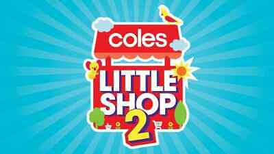Coles Little Shop 2 Collectables