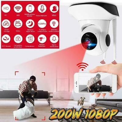 HD 1080P Wireless Wifi IP Security Camera CCTV Webcam Baby/ Pet Monitor Pan A4J0