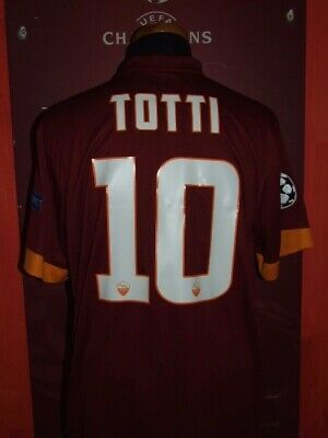new concept c3b6b 4e6af MAILLOT MAGLIA TRIKOT Shirt AS ROMA SPQR DERBY 2017 TOTTI ...