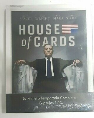 Pelicula Bluray Serie Tv House Of Cards Temporada 1 Precintada