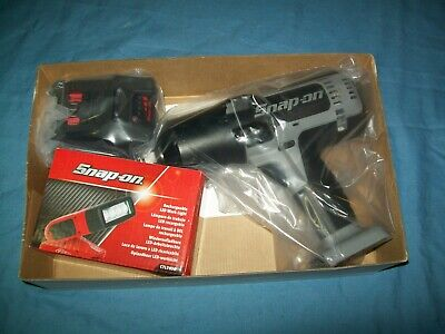 """NEW Snap-on™ 1/2"""" drive 18 V MonsterLithium Cordless Impact Gun CT8850BSSPCL"""