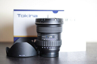 Tokina AT-X Pro 11-16mm F/2.8 DX Wide Angle Lens For Nikon - MINT!