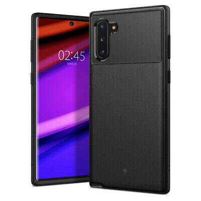 Galaxy Note 10, Note 10 Plus Case Caseology® [Vault] Black TPU Shockproof Cover