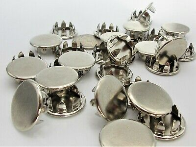 """Nickel Plated Set of Four 1//8/"""" Metal Hole Plugs SP-125-NKX4"""