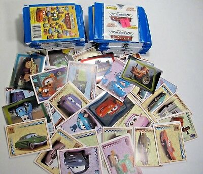 PANINI The World of Cars Pixar Stickers 47 sealed packs + 90 Stickers