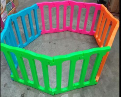 Plastic Playpen Barrier 16 Panels