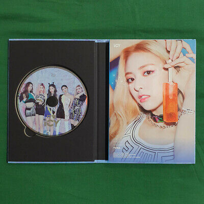[Pre-Owned/No Photocard] ITZY Yuna cover It'z ICY Icy ver - CD/ Booklet