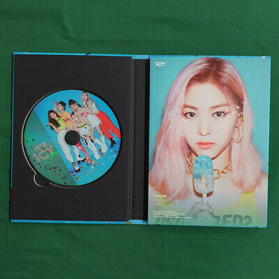 [Pre-Owned/No Photocard] ITZY Ryujin cover IT'z ICY IT'z ver - CD/ Booklet