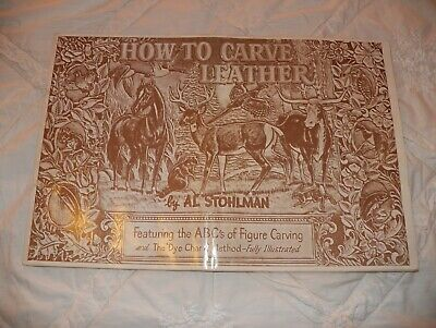 Al Stohlman - How To Carve Leather - Carving Patterns Designs Leathercraft