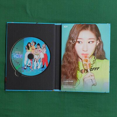 [Pre-Owned/No Photocard] ITZY Chaeryeong cover IT'z ICY IT'z ver - CD/ Booklet