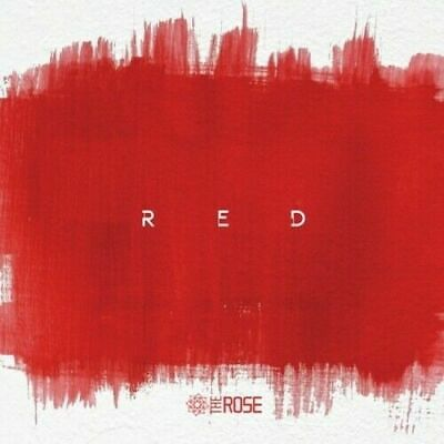 The Rose-[Red] 3rd Single Album CD+Booklet+PhotoCard+InnerCard+Tracking K-POP