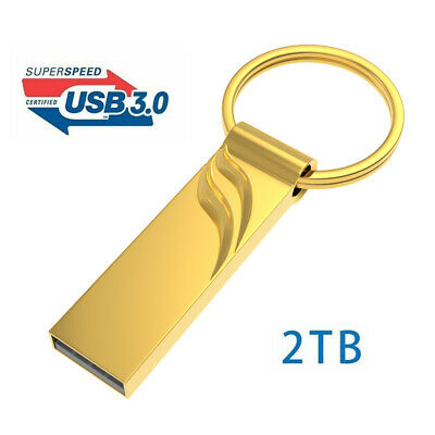 USB Flash Drive 2TB High-Speed Data Storage Thumb Stick Store Movies Picture PC