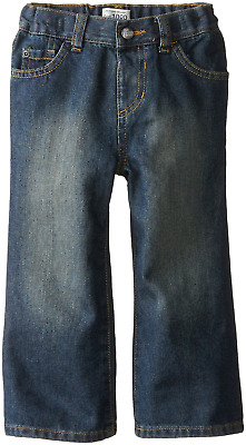 The Childrens Place Little Boys and Toddler Bootcut Jean Dry Indigo 5T