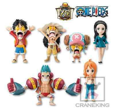 ONE PIECE WCF World Collectable Figure Franky Shogun Luffy Chopper Nami Robin