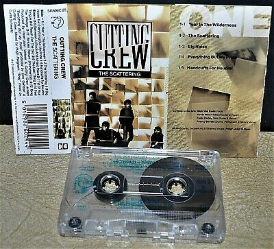 CUTTING CREW      -  THE SCATTERING  -                             Cassette Tape