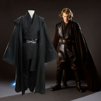 Cool Star Wars Anakin Skywalker Cosplay Costume Jedi Knight Halloween Outfit/<DD/>