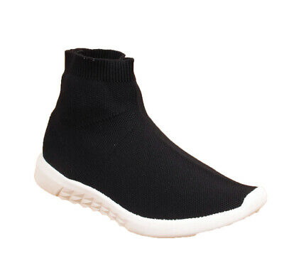 Kids Girls Boys Infant Sock Running School Walking Sports Pumps Trainers Shoes