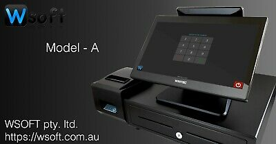 All-in-one POS system with software