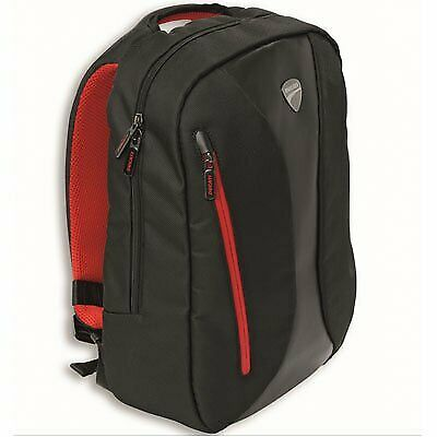 Ducati Downtown Backpack Black/Red 981029493