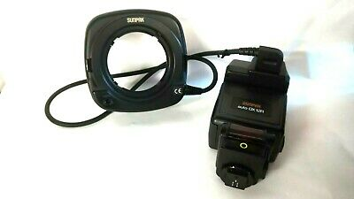 Sunpak Auto DX 12R Ring Flash Canon EOS