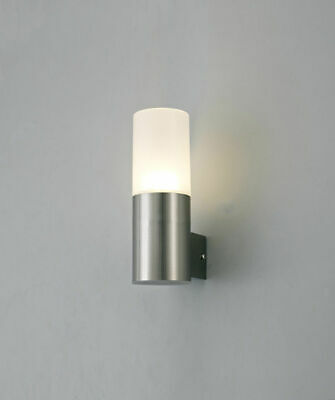 Outdoor Wall Light In Stainless Steel LED Up Wall Light 10W IP44 Deco D0261 (F1)