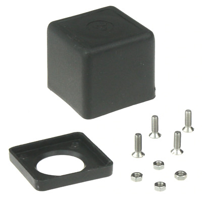 LPG UK Bayonet Filler Square Cap with Fixings Autogas Safety