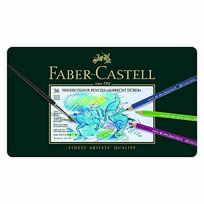 Faber-Castell 117536 Crayons de couleur aquarellables (36er Metalletui)