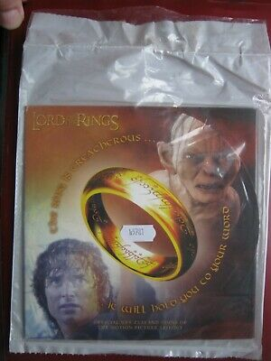 New Zealand 2003 ~ LORD OF THE RINGS 6x 50 Cents UNC Coin Set Royal Mint Folder