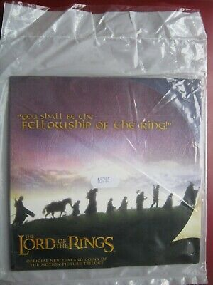 New Zealand 2003 ~ LORD OF THE RINGS 9x 50 Cents UNC Coin Set Royal Mint Folder