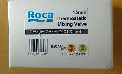 Roca 15mm thermostatic mixing valves. tmv2 and tmv3