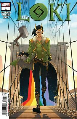 Marvel 2019 LOKI #1 Main Cover NM Unread