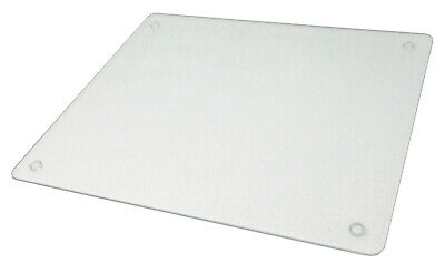 Vance 12 X 10 inch Clear Surface Saver Tempered Glass Cutting Board, 81210C